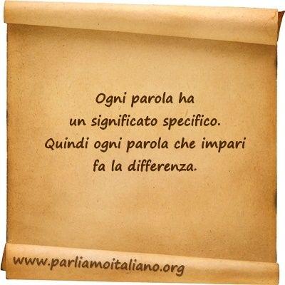 Lo sai che...  www.parliamoitaliano.org