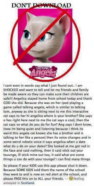 21 best DONT PLAY TALKING ANGELA images on Pinterest ...