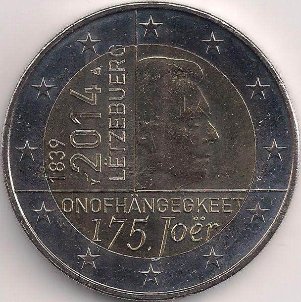 Motivseite: Münze-Europa-Mitteleuropa-Luxemburg-Euro-2.00-2014