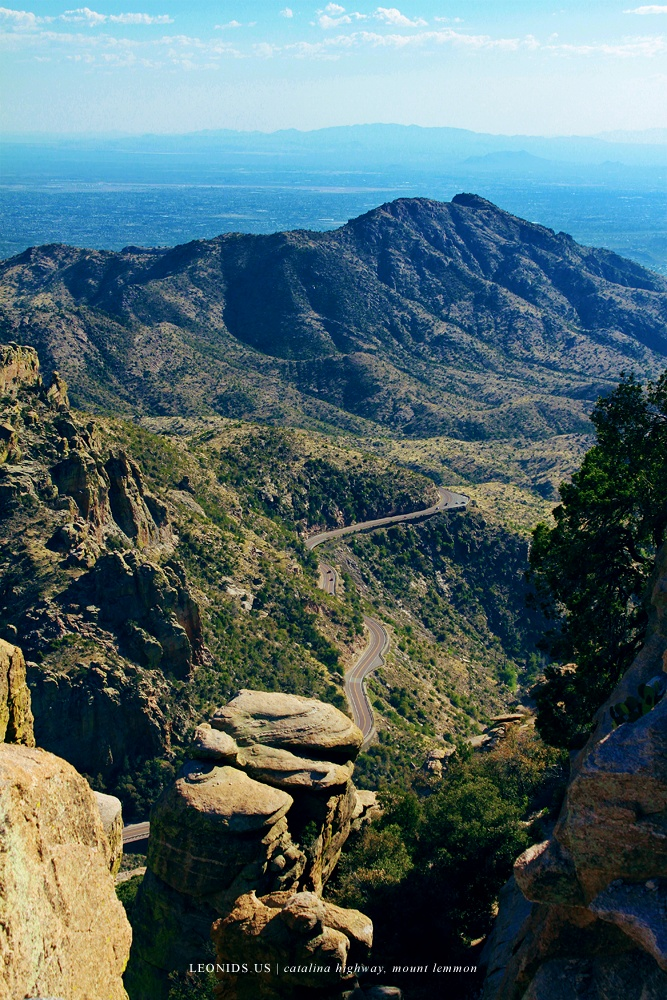 Sky Islands of Mount Lemmon, AZ [ Photo by Leonids.us - http://leonids.us/hikes/sky-islands-mt-lemmon/ ]
