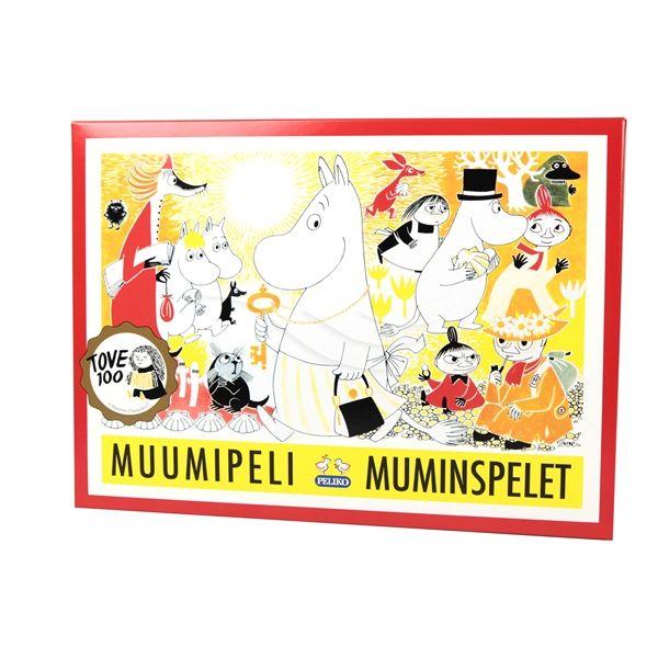 Muminspelet Jubileumsutgåva - Tove 100 år - Barnspel - Mumin   Shopping4net