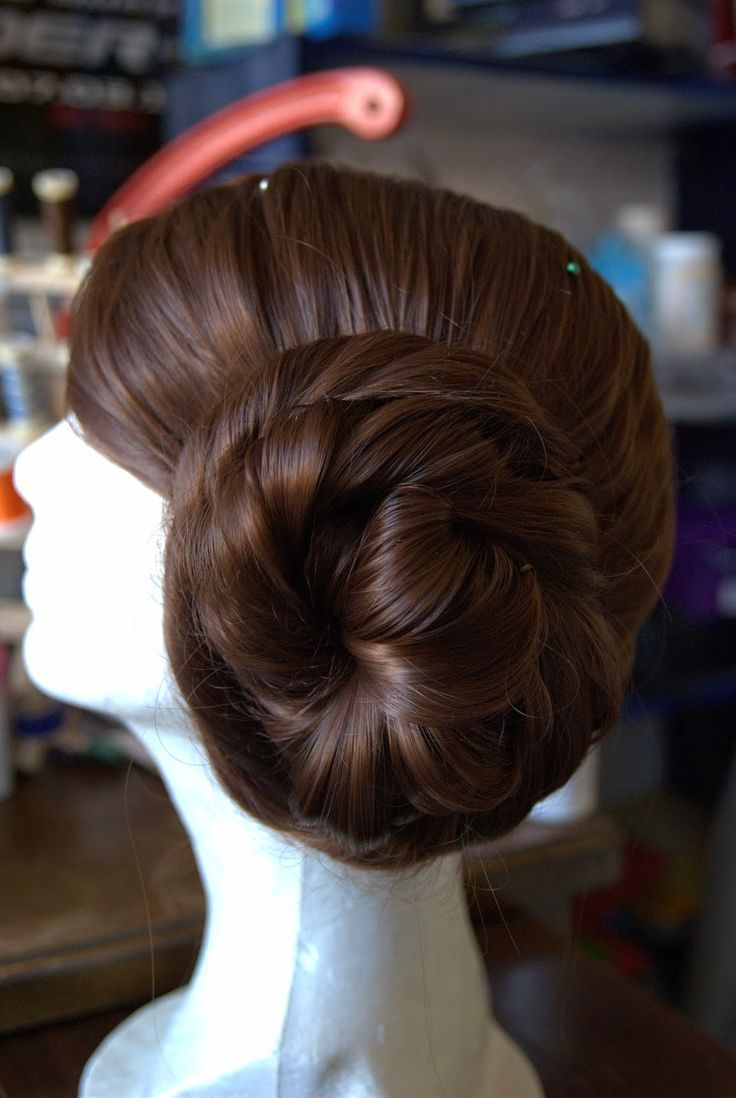 One of the biggest challenges that Princess Leia costumers face is making her iconic buns. I think I just about broke an old coworker'...