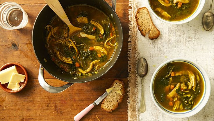 Food really can be your medicine – try this chicken soup with extra anti-inflammatory, flu-fighting spices to give you maximum protection when flu season hits -wyza.com.au