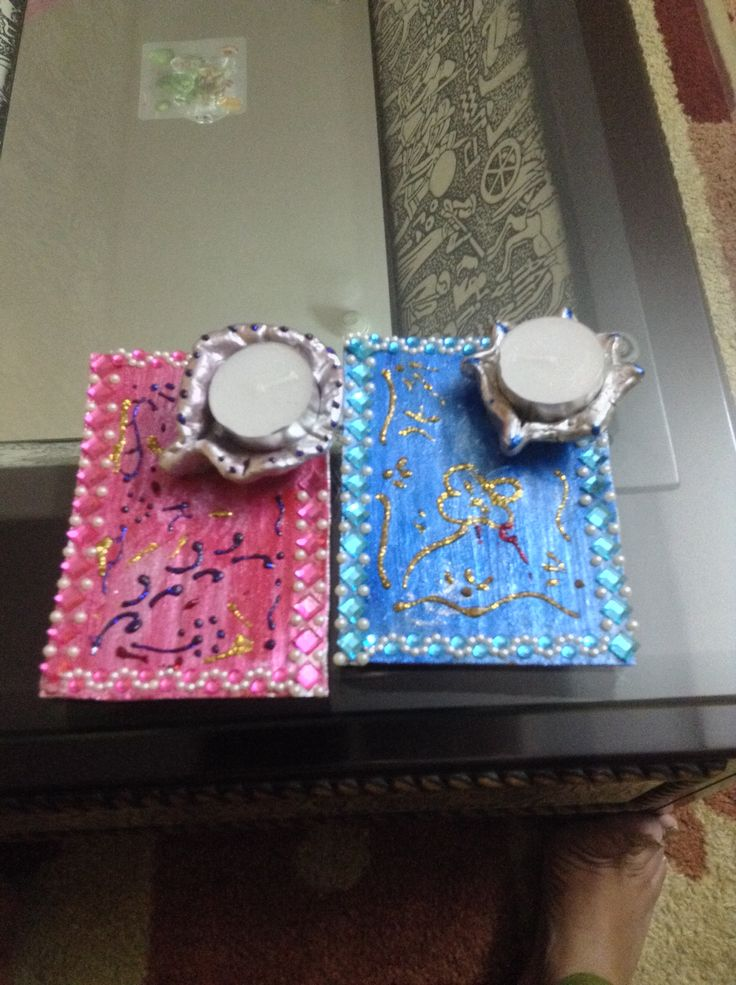 diyas done by my daughter