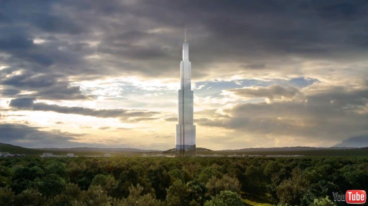 China has recently been talking about it for a project that pulvériserait several records, including that of the tallest tower in the world and built the tower faster. Built in Changsha City thanks to an ingenious (and disturbing) system of prefabricated blocks, Sky City will measure 838 meters high, 10 meters higher than the tower Burj Khalifa in Dubai.  © Capture Youtube