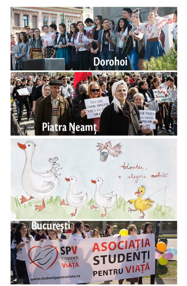 Marcia per la vita Romania 2014