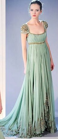 Jane Austen style vintage dress                              …