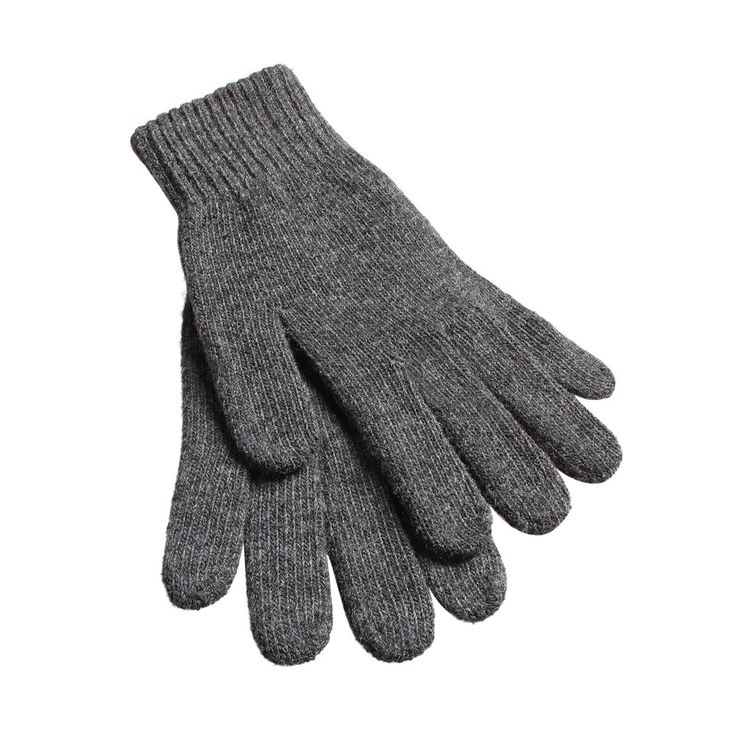 Smartphone-Handschuhe aus Lammwolle