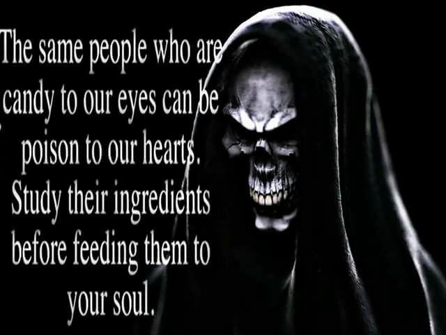 Evil lurks behind the mask