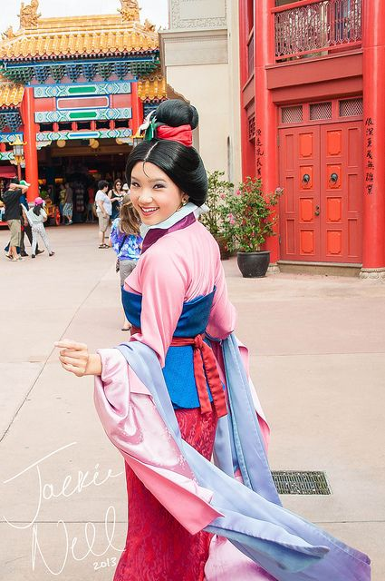 Mulan! Photo by #JackieNell