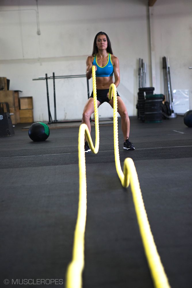 Workout Rope Training: Basic Exercises For Beginners |