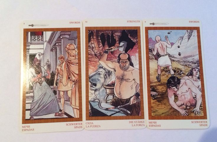 Три карты дня. Мифы Олимпа