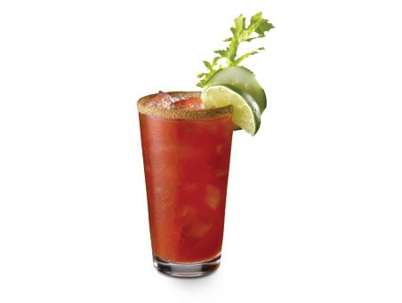 Bloody Caesar - thank you Canada! Who even knew there was such a thing as clamato juice?