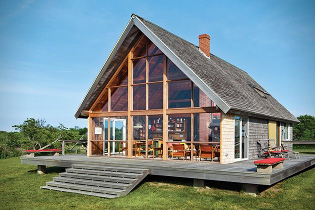 Jens Risoms Block Island Family Vacation Home 5
