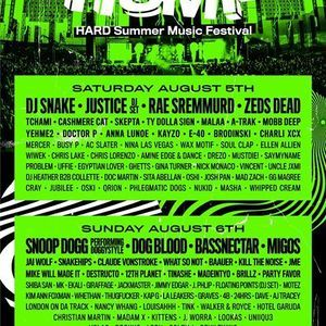 HARD Summer Music Festival 2017