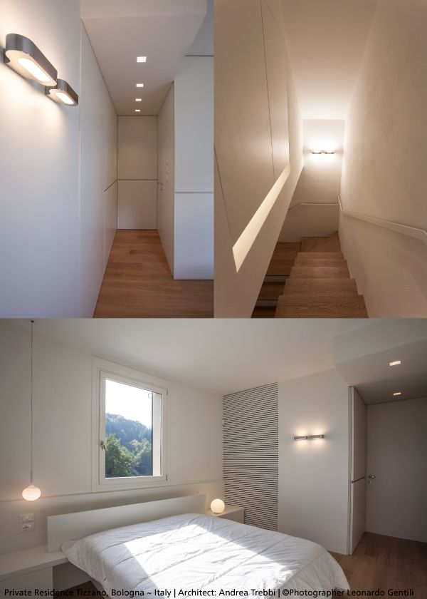 In corridors, stairs or every kind of room, #Talo is a very elegant wall luminaire for interiors. #design Neil Poulton ► http://bit.ly/TALOWALL