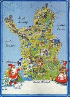 Best My Illustrated Map Obsession Images On Pinterest - Norway map cartoon