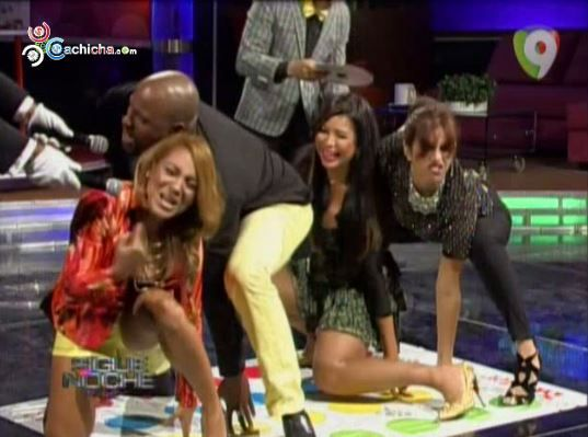 Pamela Sued Y Melissa Guzman Juegan Al Twister #Video