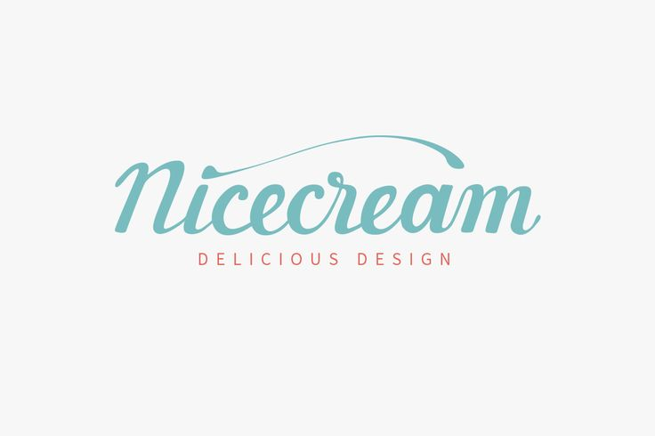 Logo-Gestaltung für Nicecream Delicious Design | Alexander Flemming | MONUMIND Brand Design | www.monumind.de