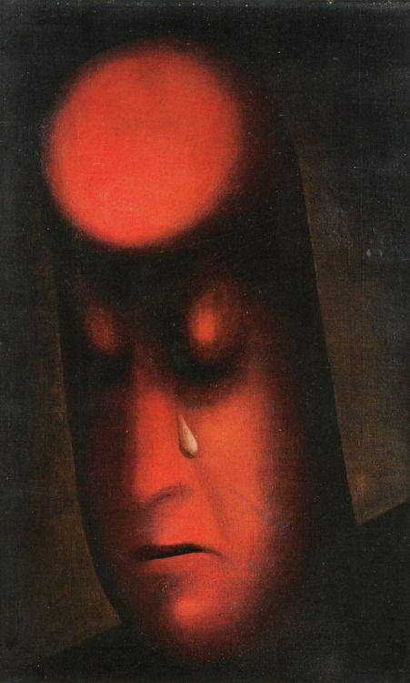 Jan Zrzavý: Hoře (1915)