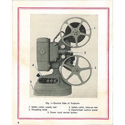 8mm Projector Manual