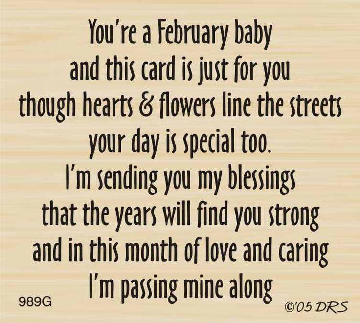February Birthday Greeting - DRS Designs