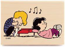 Lucy van Pelt  and Schroeder- Peanuts Wiki