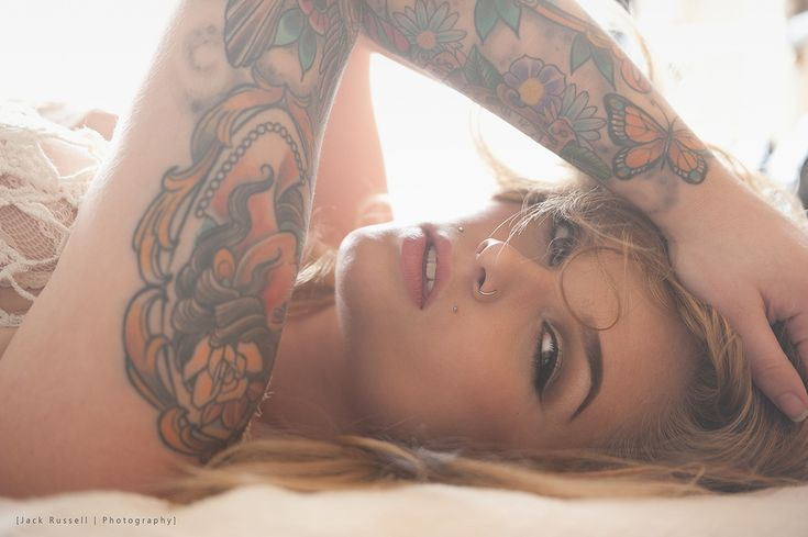 Ali Amour by Jack Russell #portrait #tattoos #photography