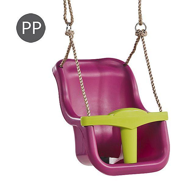 KBT Baby seat - 2.5 m purple / lime