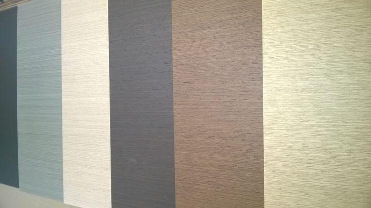 SIGNUM sample plates. Straigth stripes for minimal lovers - SIGNUM minták, elegáns vonalak kétszerkéselt furnérból.
