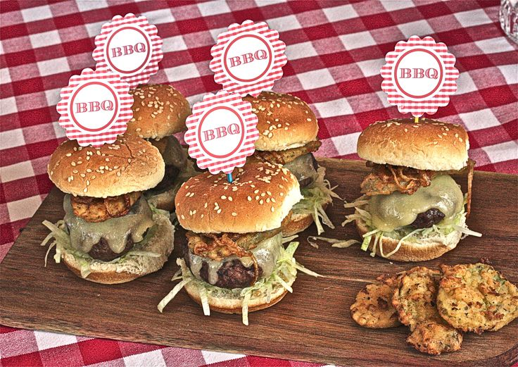 Smokey Burger Sliders with Fried Pickles