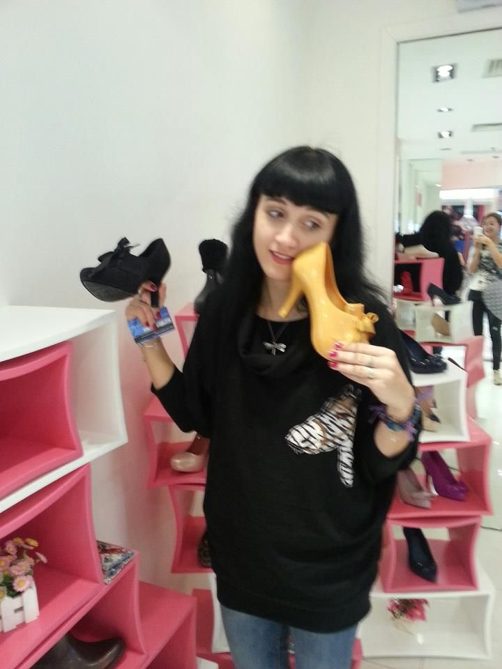 Shoe mania in Melissa store in Shanghai