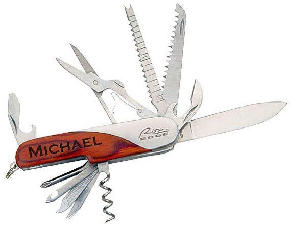 Graduation gift, Personalized Knife, Gift for boyfriend, Gift ideas for Men, Multi-tool Pocket Knife, Bottle Opener, Father's day gift,