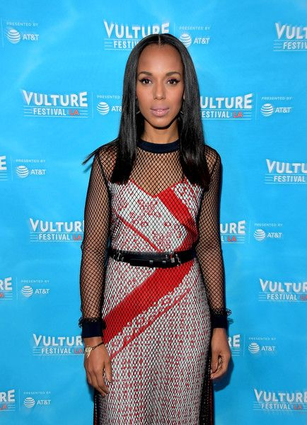 Actress Kerry Washington attends the 'Scandal: The Final Season' panel during Vulture Festival LA Presented by AT&T at Hollywood Roosevelt Hotel on November 18, 2017 in Hollywood, California. - Vulture Festival LA Presented by AT&T - Day 1