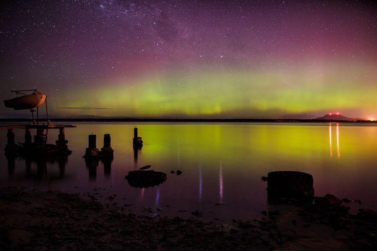 Aurora Australis, Southern Tasmania