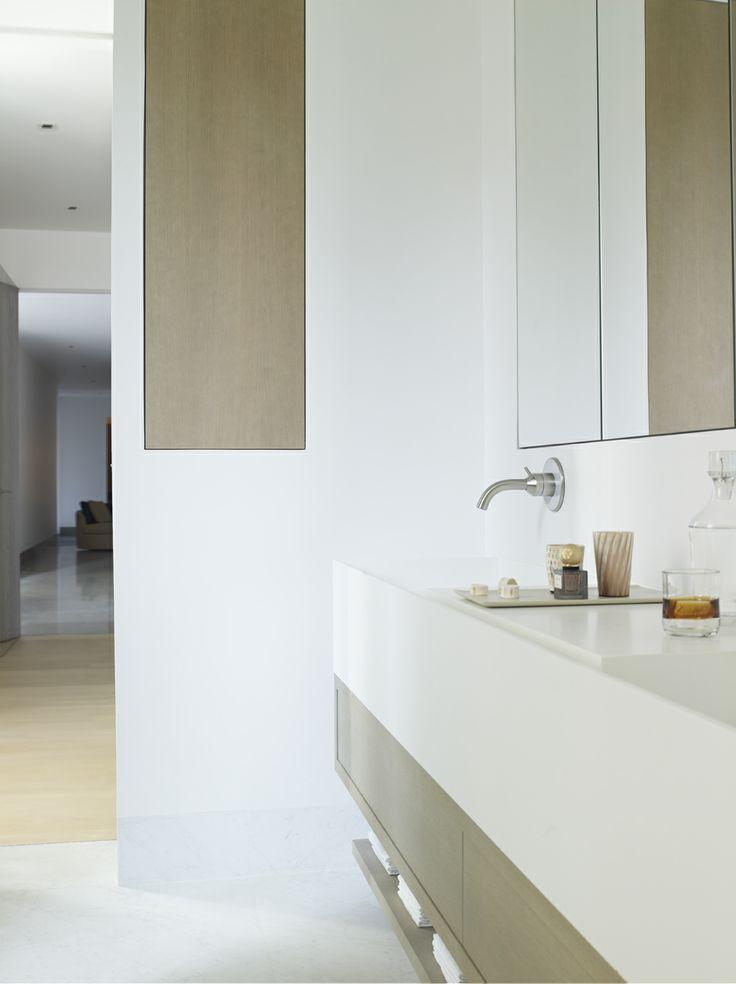 Piet Boon Styling by Karin Meyn   Bathroom, with warm hints of wood