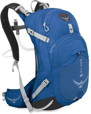 $140 - Osprey Manta 20 Hydration Pack - 100 fl. oz. - 4 Liters of water feels like nothing in this pack!