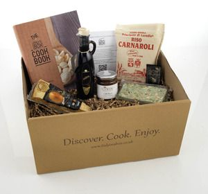 NEW FOOD DELIVERY BOX - 'ITALY IN A BOX' DELIVERS AUTHENTIC ITALIAN FOOD TO YOUR DOOR