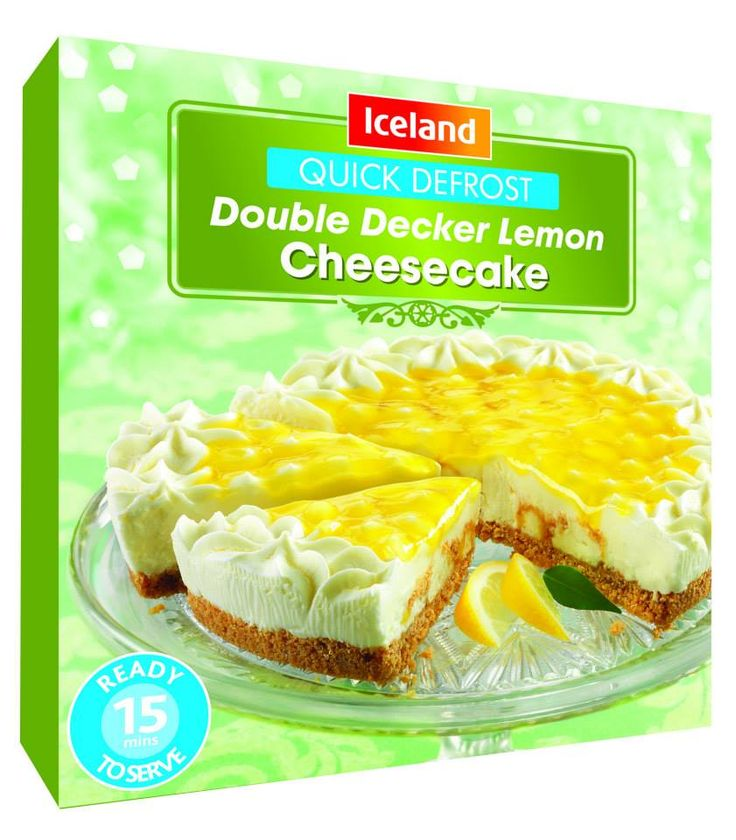 Make tonight special with easy & Quick Defrost Double Decker Lemon Cheesecakes #cheesecake #sweets #tempting