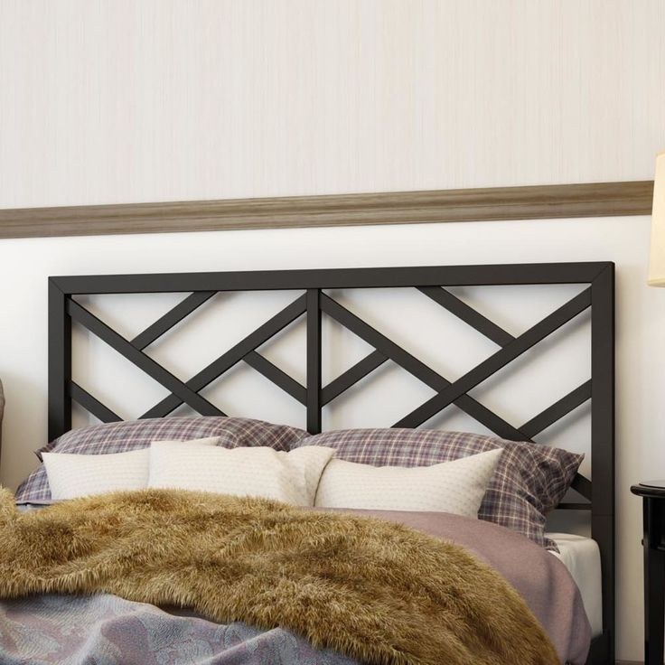 Windmill Metal Headboard - guest room