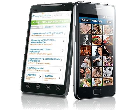 Mobilní stránky