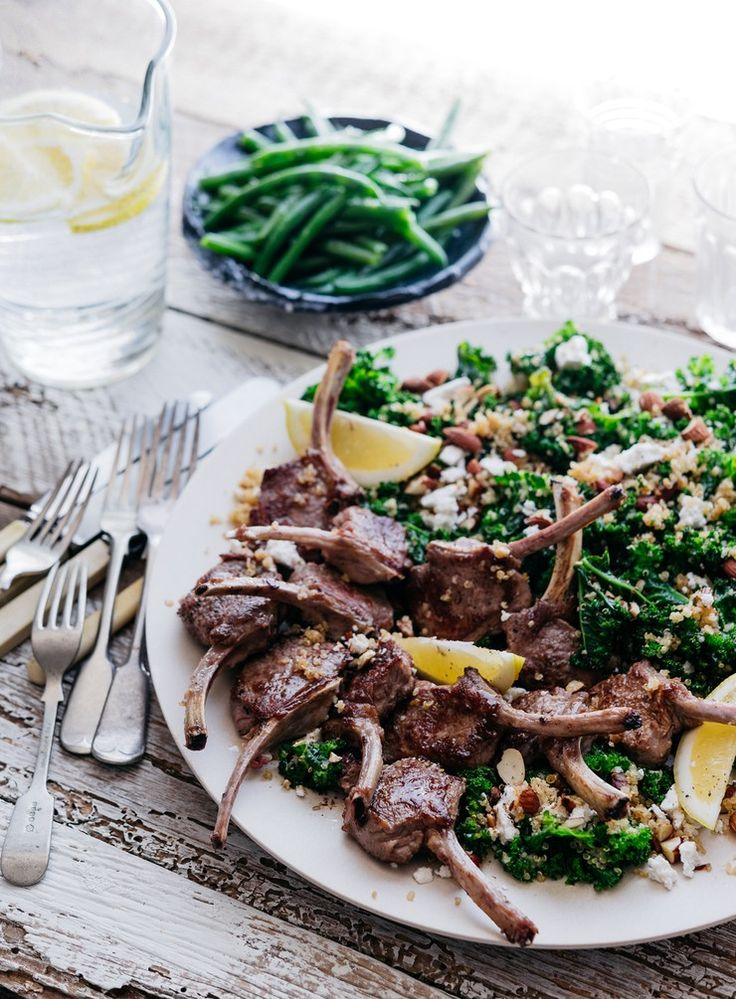 Tender lamb cutlets are readily available but you can also use lamb loin chops which require a slightly longer cooking time.