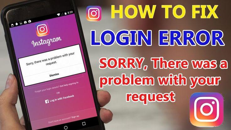 How to fix instagram login problemerror 2019 insta