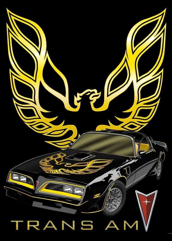 Pontiac trans am 'Smokey and the Bandit' tee by PRICEDRIGHTTEES