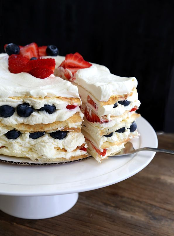 Easy Gluten Free Crepe Cake Gluten Free Cakes And Cream