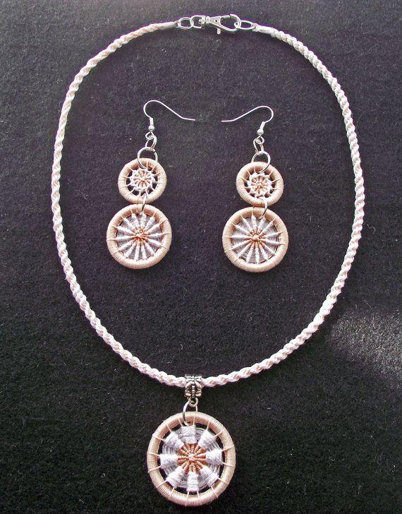 Dorset Button Jewellery Kumihimo Jewellery by WonderWoollens