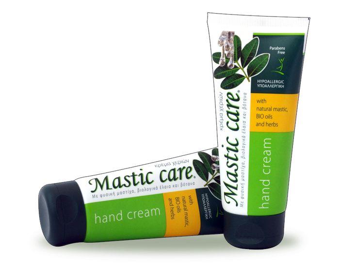 Handpflegecreme mit reinem Mastix und Bioölen