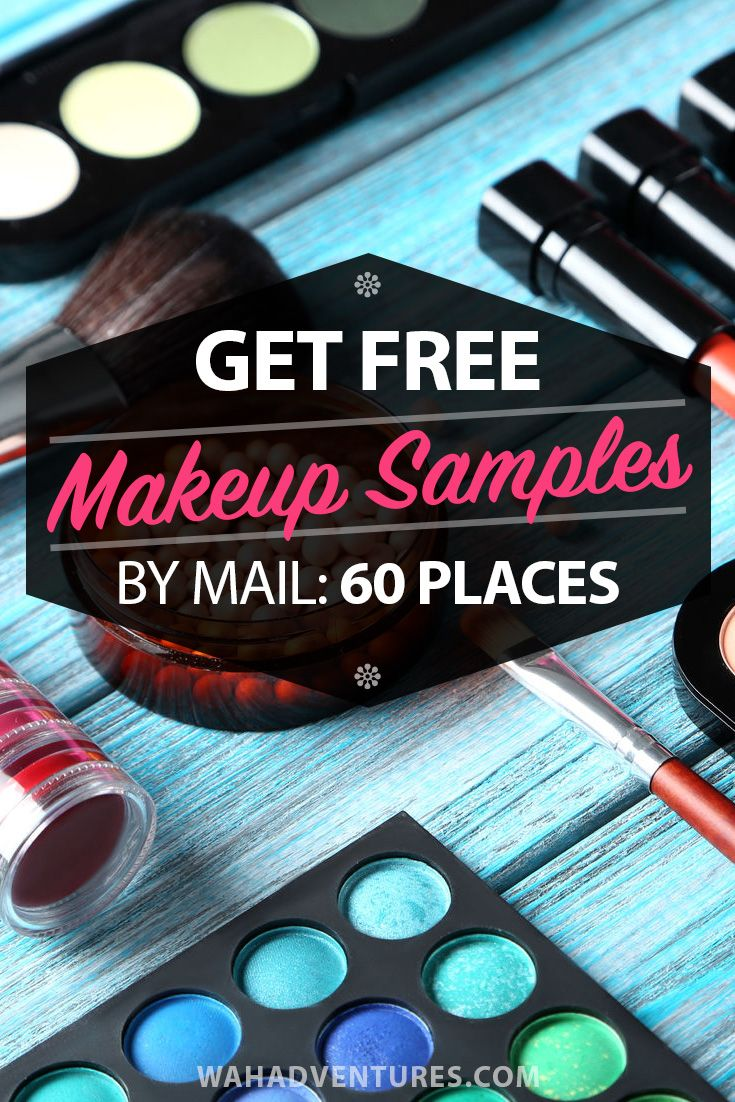 Learn How To Get Free Makeup Samples By Mail Plus Current Samples Get Free Makeup Free Beauty Samples Free Makeup Samples