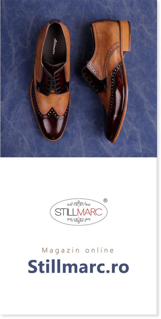 Pantofii Stillmarc pentru barbati sunt confectionati manual, din piele naturala de calitate superioara, aplicandu-se diferite finisaje pentru obtinerea aspectului fin si elegant.