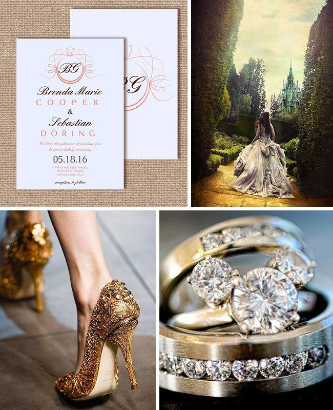 wedding inspiration disney theme inspiration board